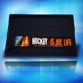 04 Ručník Hockey is my life oheň a led